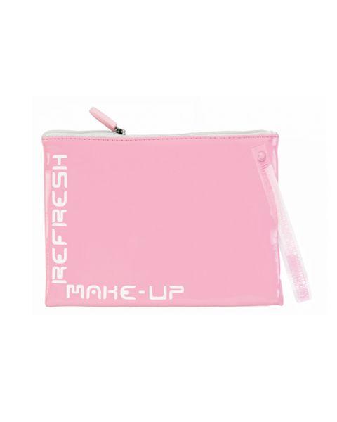 Make-up tasje refresh roze