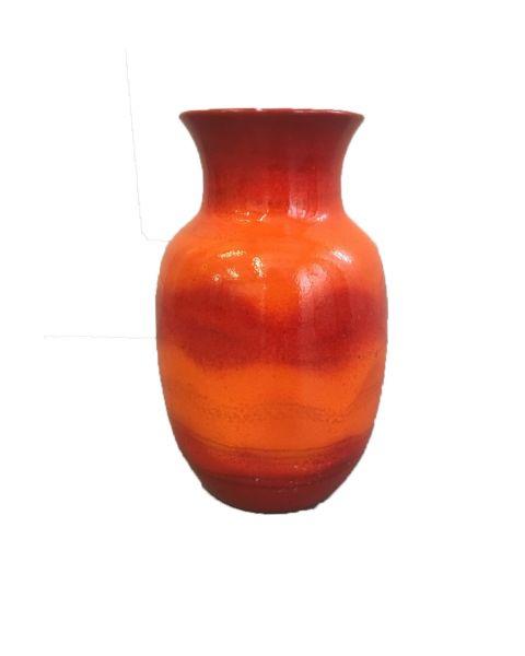 vaas oranje rood
