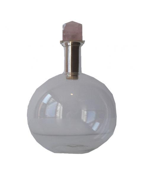 Glazen karaf met kristal