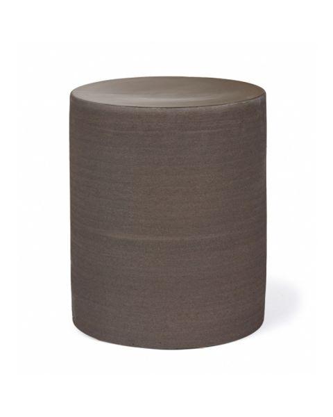 Pawn bijzettafel black cilinder