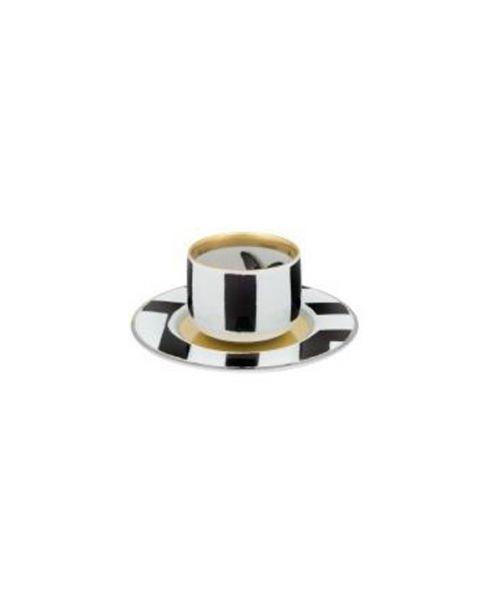 Koffiekop en -schotel Sol Y Sombra