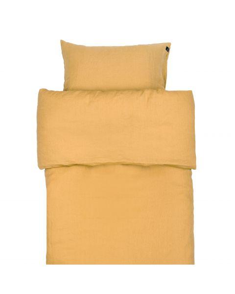 Sunshine linnen dekbedovertrek yellowish