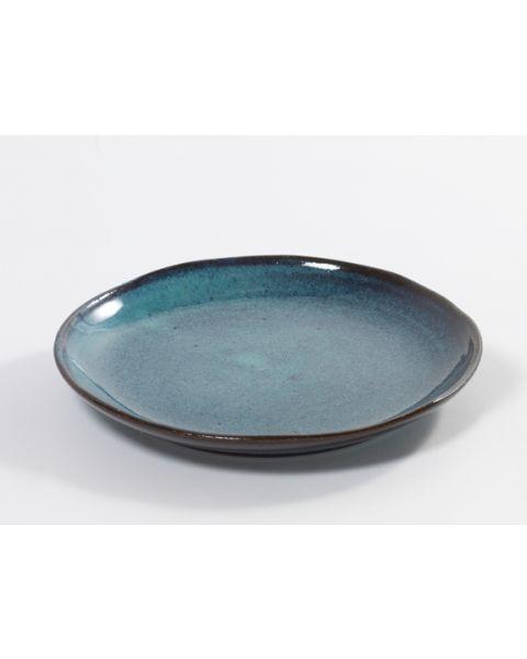 Bord 22 cm blue Aqua