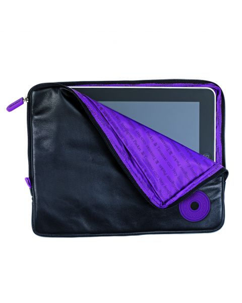 iPad-tablet hoes small leer