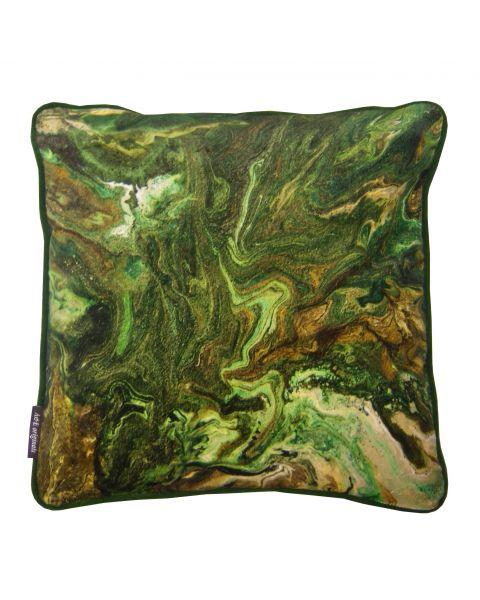 Kussen A&E Orginals outerspace velvet green