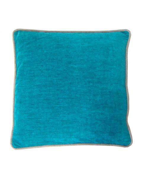 Kussen A&E Orginals soft velvet turquoise