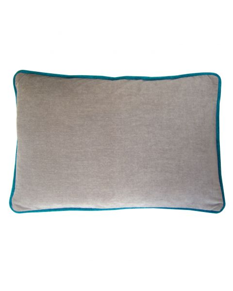 Kussen A&E Orginals soft velvet grey