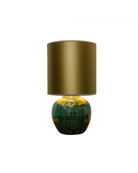 Ginger Jar Lamp Gold
