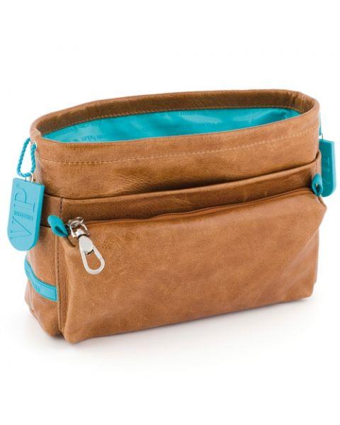 Bag in bag rundleer camel