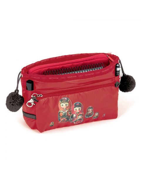 Bag in bag babushka rouge