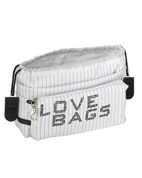 Bag in bag love white