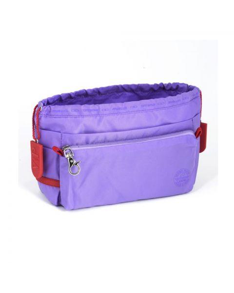 Bag in bag lila