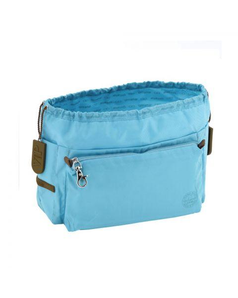 Bag in bag large azur