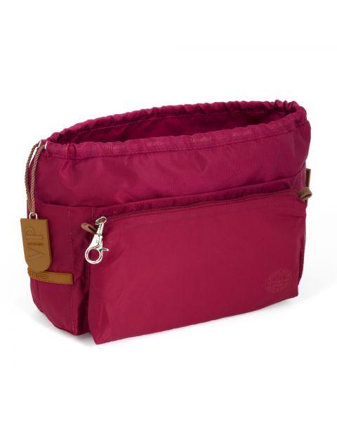 Bag in bag large burgundy